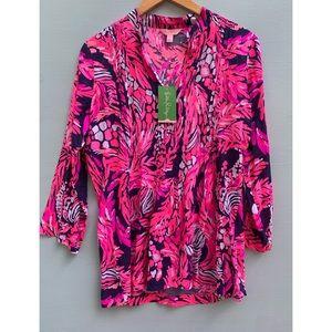 Lilly Pulitzer Shirt - NEW Sarasota Tunic Top